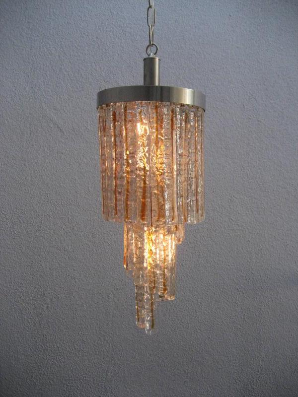 Mazzega Glass Chandelier
